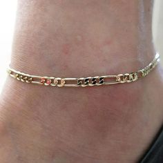 Purchase Sexy Shiny Women Chic Gold Chain Anklet Bracelet Foot Bangle from Shenzhen Wanweile Network Tech on OpenSky. Share and compare all Jewelry. Gold Anklet, Anklet Jewelry, Jewelry Bracelets, Women's Anklets, Braided Bracelets, Men's Ankle Bracelet, Fashion Bracelets, Fashion Jewelry, Gold Chains For Men