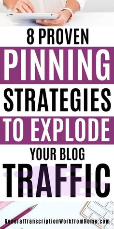 8 proven pinning strategies to get more clicks on Pinterest, get more repins, and get massive traffic to your blog #Pinterest #pinning #getmoreclicks #getrepins #blogging #blogtraffic How To Make Money, How To Get, Pinterest Marketing, Blog
