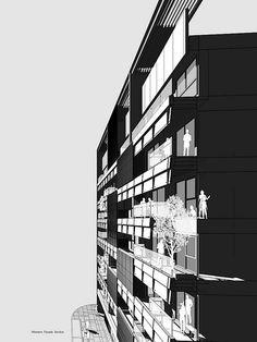 25 Congregate Housing Ideas Facade Architecture Architecture Building Facade Design