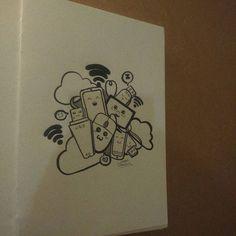 Day 3  By Chagas Ilustrações/Luciana Chagas #inktober2go #inktober #inktober2015