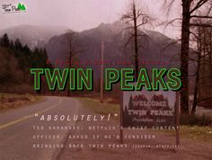 Twin Peaks, a Netflix Original Series?