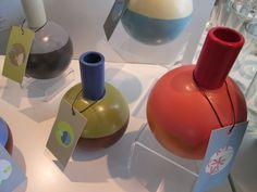 Vases by Alison Gooding of Soap Lake, Washington!