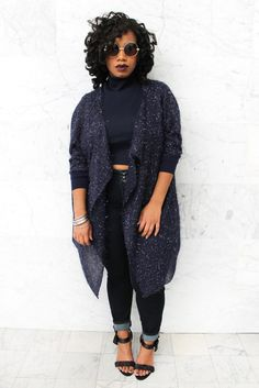 Plus size designer- Zelie for She forever-young-sapphire-shawl size fall outfits african american Zelie for She 'Forever Young' Fall Collection Curvy Girl Fashion, Fashion Mode, Black Women Fashion, Womens Fashion, Fashion Trends, Ladies Fashion, Young Fashion, Fashion Ideas, High Fashion