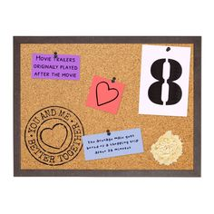 Cork Board with Print You and Me - Better Together Cork Boards, Valentines Day Presents, Art Desk, Storage Places, Better Together, Home Decor Wall Art, Your Best Friend, Modern Decor, You And I