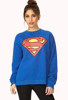 Superman Sweatshirt | FOREVER21 - 2000073651 #ForeverHoiday