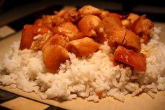 ME AND MY TADPOLE: Honey Sauced Chicken ~ Crockpot Recipe