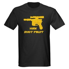 Han Shot First T-Shirt