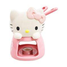 Sanrio Hello Kitty Hello Kitty Fondue Set #1997: Amazon.com: Kitchen & Dining