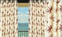 Now this one is tood Good to be home.. Shared of Bright color and dusky leaves make a clear contrast in the Curtain. You'd love to keep this @ home. Www.stylehomez.com