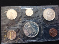 1965 Canada Silver Proof Like Mint Set by SaonysCollectables on Etsy