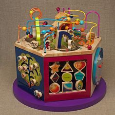 """Babble's Family Style's """"20 Gifts for a 1st Birthday"""" post recommends our B.Toys Youniversity as """"the most beautiful and thoughtfully designed activity center I've ever seen."""""""