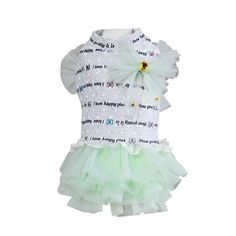Homdeco Small Dog Pet Summer Tops Coat Dress Princess T Shirt Puppy Cat Costume Apparel ** Check out this great product. (This is an affiliate link and I receive a commission for the sales)