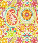 Home Decor Print Fabric-Waverly Paisley Prism Sorbet