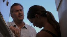 "Burn Notice 4x14 ""Hot Property"" - Fiona Glenanne (Gabrielle Anwar) & Sam Axe (Bruce Campbell)"