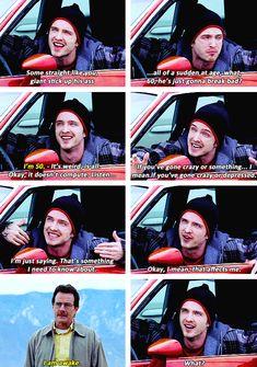I love Walt & Jesse's early relationship.