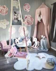 Spoločne vytvorime rozprávkovú detskú izbu 👧🏼👶🏼 Baby Room Decor, Nursery Decor, Bedroom Decor, Girl Bedroom Designs, Girls Bedroom, Lounge Decor, Little Girl Rooms, Dream Decor, Dream Rooms