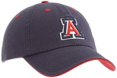 new photos c9549 8cd30 NCAA Arizona Wildcats Adult Adjustable Hat, Navy Blue by Top of the World.   16.39