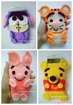 Crochet Pouch, Crochet Purses, Crochet Gifts, Love Crochet, Diy Crochet, Crochet Toys, Amigurumi Patterns, Crochet Patterns, Crochet Phone Cover