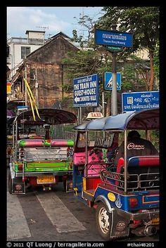 Tuk Tuks - Bangkok