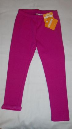 365696e0333fa NEW Girls Size 3T Gymboree Leggings Bright Pink Warm   Fuzzy 2017 Line NWT