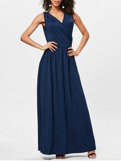 GET $50 NOW | Join RoseGal: Get YOUR $50 NOW!https://www.rosegal.com/maxi-dresses/surplice-neck-pleated-maxi-dress-2183969.html?seid=4695937rg2183969
