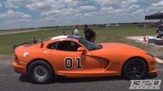 Watch This 2,300 Horsepower General Lee Dodge Viper Dominate the Half-Mile - The Drive
