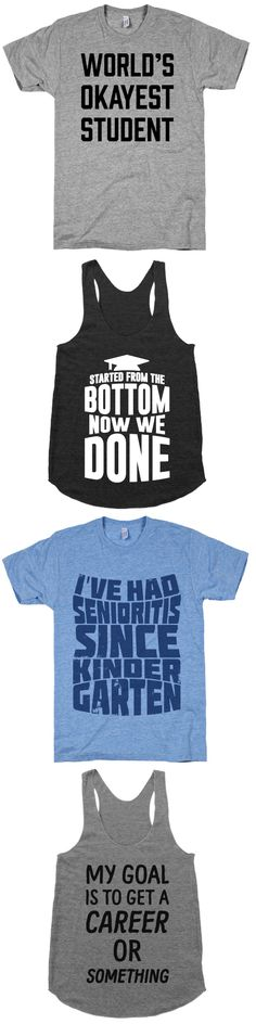 Check out these designs that are perfect for any recent grad.