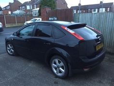 2007 Ford Focus n this afternoon for 18% Carbon tints to the rear .  All the way from Holywell ....Thanks Lucy