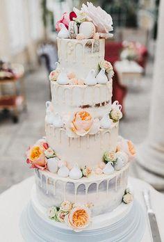42 Yummy And Trendy Drip Wedding Cakes ❤ drip wedding cakes tender drip cake nancyebert #weddingforward #wedding #bride
