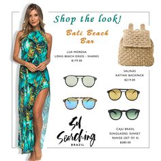 Shop these beach chic vacation looks Singapore Fashion, Beach Look, Swimwear Fashion, Get The Look, Searching, Vacation, Chic, Shopping, Collection