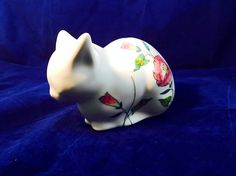 A personal favorite from my Etsy shop https://www.etsy.com/listing/516859775/salerno-italy-porcelain-vintage-cat-bank