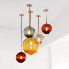 Simple, yet elegant the Float Pendant Light combines the beauty of hand-blown Czech glass with light. http://www.ylighting.com/sklo-float-pendant-light.html