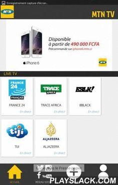 MTN TV  Android App - playslack.com , Reste branché sur tes chaines préférées sur ton mobile:- France 24- Al Jazeera- Trace Africa- BeBlack- Tiji