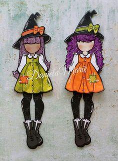 Lil witch doll - By Daniela Alvarado.