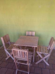 comedor con 4 sillas