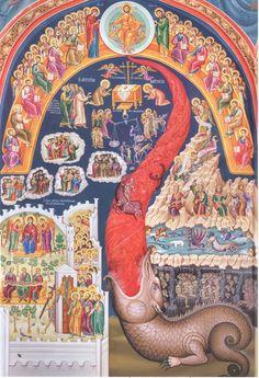 The Last Judgement, Monastery of St. Stephen, Meteora, Greece