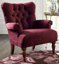 Relax in the Rochester from Next Pinterest Home, Sofas, Armchairs, Velvet Armchair, Next At Home, Wingback Chair, Cosy, Accent Chairs, Sweet Home