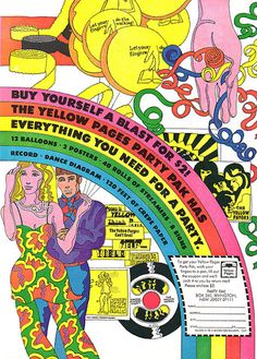Vintage flashback-inducing psychedelic ads from the 60s and 70s that will give you a contact high | Dangerous Minds