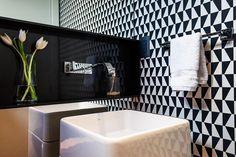 Papel de Parede no lavabo marchetti bonetti - Imagens para papel de parede