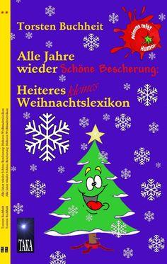 """Endlich: Das kleine Weihnachtslexikon aus der Heiteren Lexikon-Reihe """"Nimms mit! Humor."""" von Torsten Buchheit. 52 Seiten, 14 farbige Abbildungen und ein großer Haufen humorvoller Worterklärungen von Abschmücken über Dynamit, Krötenwanderung, Weihnachtsgnu bis Zimtsterne. Amüsant und liebevoll ironisch beschreibt der Autor alle unsere Erlebnisse rund um das Weihnachtsfest. Sein Markenzeichen: Intelligenter, hintersinniger Witz mit freundlichem Augenzwinkern."""