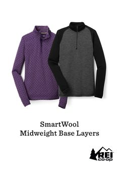 25% off all SmartWool midweight base layers now through Nov. 21! These tops and bottoms for men and women are ideal for stop-and-go activities in cold weather. The Merino wool fabric offers natural stretch and breathability, and it helps maintain comfort whether the climate is warm, cold or in-between. The fabric doesn't itch and will not shrink. Each piece is made with chafe-free flatlock seams to enhance comfort  no matter how active you are.