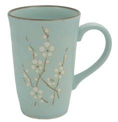 blue plum blossom tea mug  enjoyingtea.com