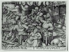 The Fat Kitchen Artist: Pieter Bruegel the Elder Completion Date: 1563