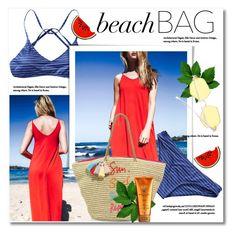 beach bag by svijetlana on Polyvore featuring moda, Rebecca Minkoff, Alterna, Beachbag and zaful