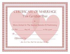 download blank marriage certificates printable wedding certificate
