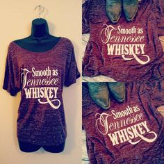 Smooth as Tennessee Whiskey, Slouchy Tee, Off the shoulder tee Suave como o T-shirt Slouchy do Tennessee Whisky Fora da camiseta do ombro Smooth As Tennessee Whiskey, Off The Shoulder Tee, Country Girl Style, Concert Shirts, Slouchy Tee, Country Shirts, Mom Shirts, Casual Tops, Cricut