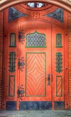 -ornate doors
