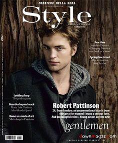 Men's Style Fashion Magazine International - April 2011 Robert Pattinson - Fashion Magazine Cover - Fashion Photography