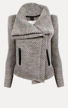 c2c7da5a09fa0 Light Grey Cozy Long Sleeve Jacket Gray Jacket