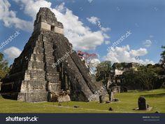 Fotos de las ruinas de Guatemala / pirámides
